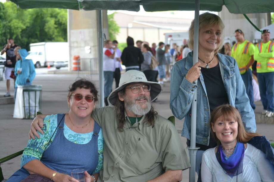 Were you Seen at Alive at Five listening to Sheila E and Conehead Buddha at the Corning Preserve Boat Launch in Albany on Thursday, August 7, 2014? Photo: Caroline Grondahl