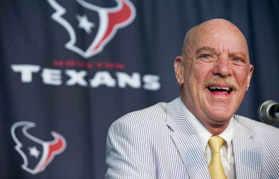 Texans owner Bob McNair had surgery and later underwent chemotherapy and radiation treatment to battle cancer discovered last fall. Photo: Brett Coomer / Houston Chronicle / © 2014 Houston Chronicle