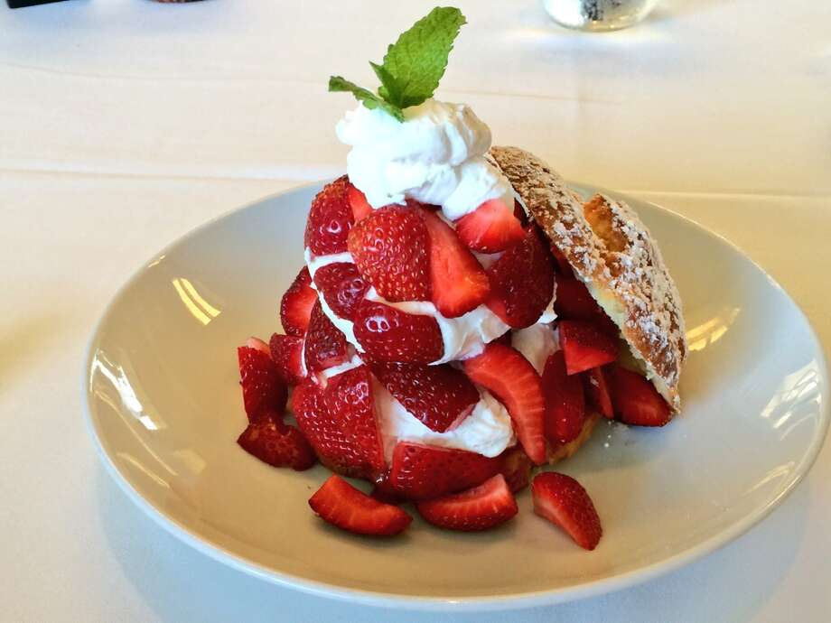 Press, St. Helena: Nothing says summer like strawberry shortcake ($13).