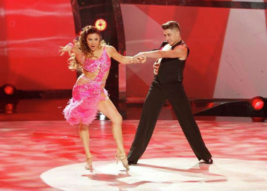 "SO YOU THINK YOU CAN DANCE: Top 10 contestant Rudy Abreu (R) and all-star Jenna Johnson perform a Cha-Cha routine to ""Maps"" choreographed by Louis Van Amstel on Wednesday, August 6 (8:00-10:00 PM ET/PT) on FOX. ©2014 FOX Broadcasting Co. Cr: Adam Rose / 1"