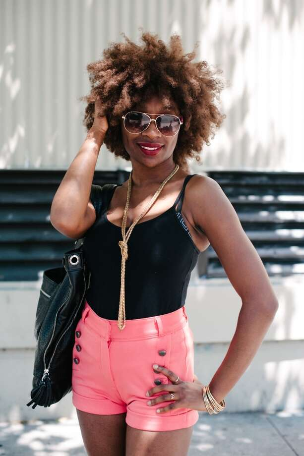 Necklace from H&M and tank from Forever21. Photo: William C Rittenhouse