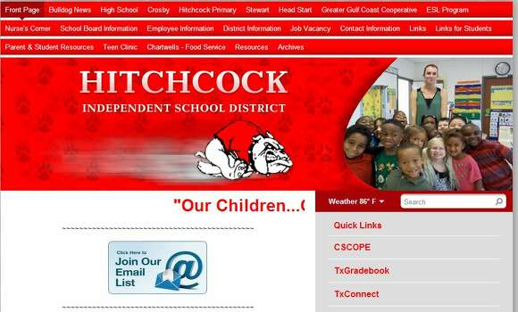 District: Hitchcock ISD County: Galveston 