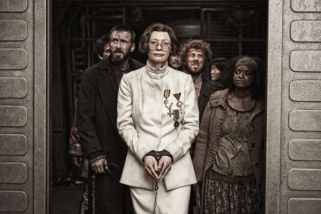 'Snowpiercer'- The Earth's remaining inhabitants are confined to a single train circling the globe as revolution brews among the class-divided cars. Based on a French graphic novel and set in a new ice age, this futuristic thriller stars a top-notch ensemble cast. Available Nov. 22 Photo: --, Radius Films