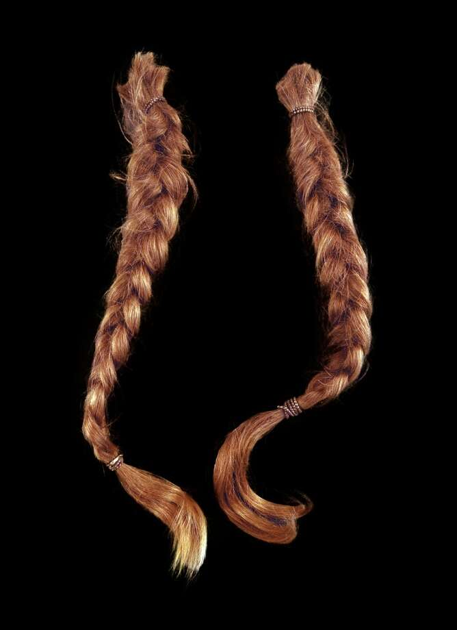 Willie Nelson's braids (which Willie himself famously cut off in 1983 to cheer on Jennings during his path to sobriety) are sure to be a hot item at the Waylon Jennings auction in October. Photo: Guernsey's