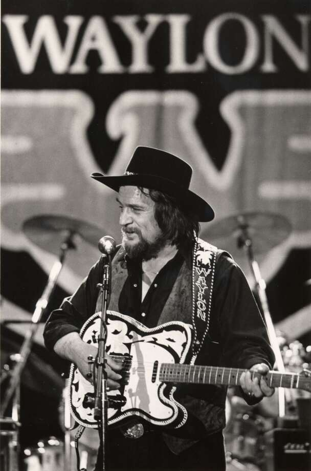 Country music legend Waylon Jennings performs in Nashville, Tenn. in this May 1984 file photo. Photo: MARK HUMPHREY, AP