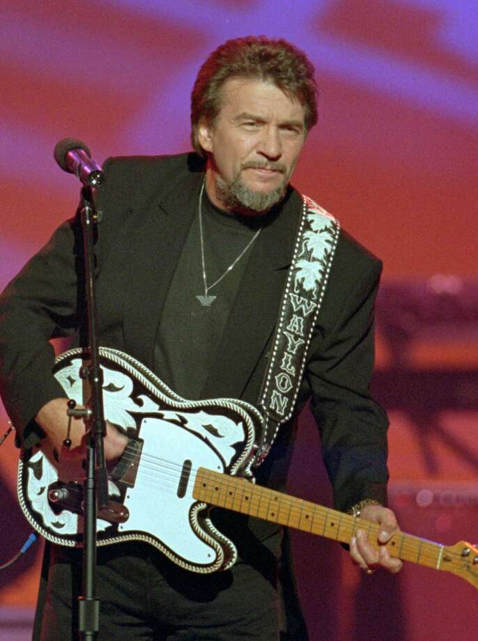 In a June 1995 file photo Country music legend Waylon Jennings performs in Nashville. Photo: MARK HUMPHREY, Associated Press