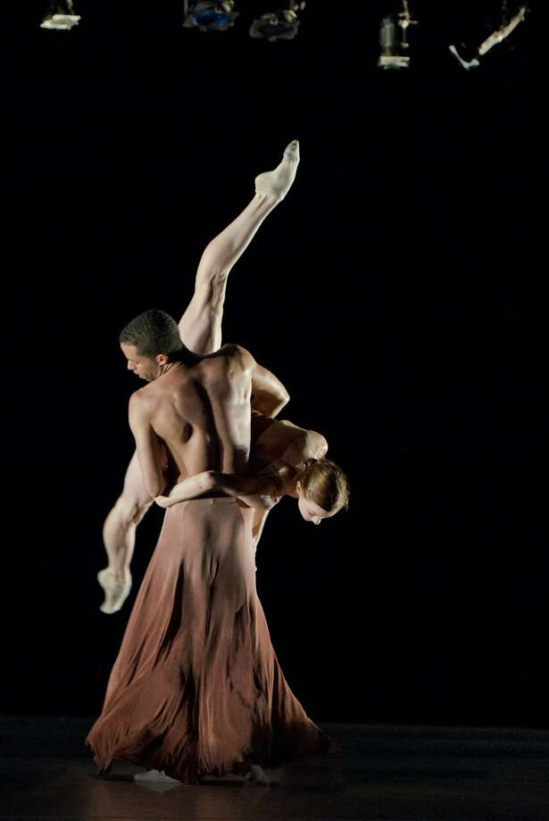 """Laura O'Malley and Ricardo Zayas are among the superb dancers in Robert Dekkers' """"Mine Is Yours,"""" revived from 2012. Photo: Natalia Perez."""