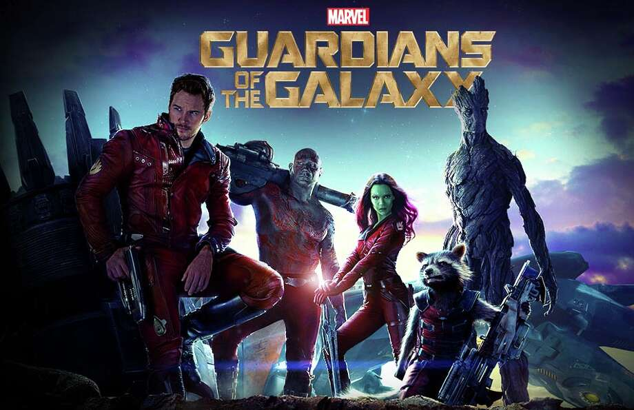 "Marvel has unleashed a quintet of somewhat unlikely heroes in the movie, ""Guardians of the Galaxy."" Photo: Contributed Photo / Westport News"
