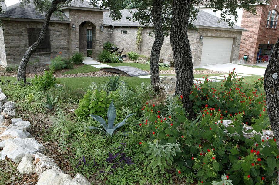 Coupons Spur Landscape Changes San Antonio Express News