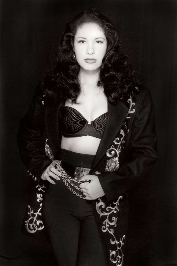 This portrait of Tejano singer Selena by San Antonio photographer Al Rendon is currently on display at the National Portrait Gallery. Courtesy photo.