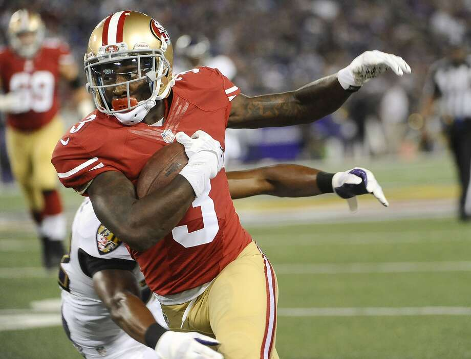 Bruce Ellington averaged 31 yards on two kickoff returns and had three catches for 35 yards. Photo: Kenneth K. Lam, McClatchy-Tribune News Service