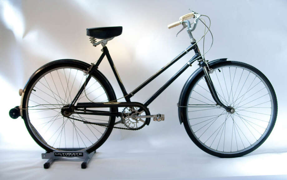 J.C. Higgins circa 1950s:  This bike was named for John Higgins, a Sears employee in the early 1900s.  In 1961 the Ted Williams brand replaced J.C. Higgins. Photo: Sara Schoenfield Murphy