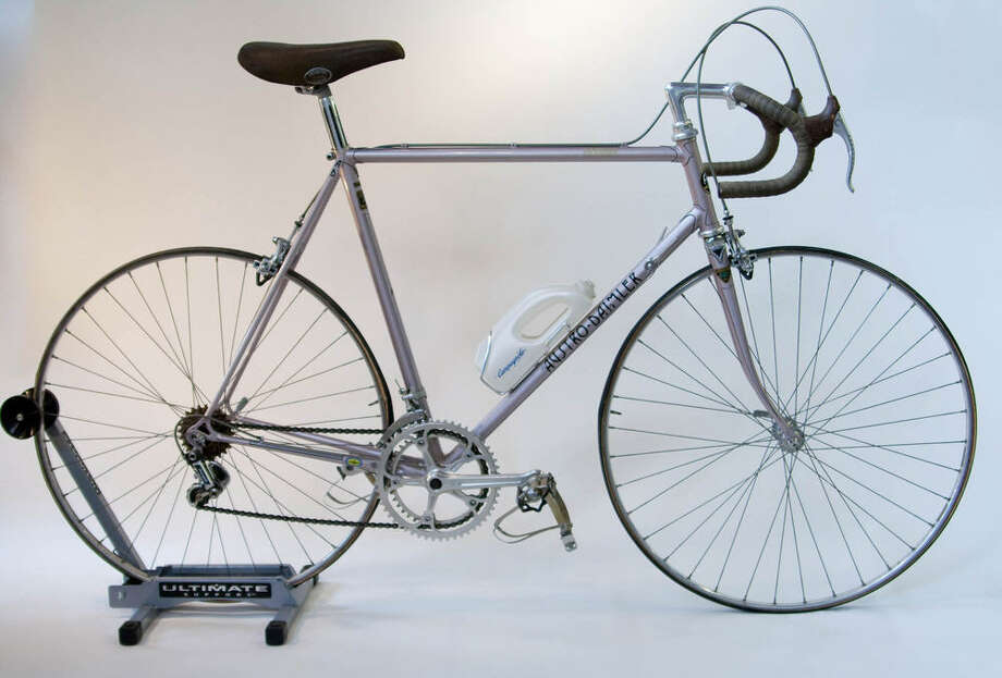 Austro Daimler circa 1974: This model with precision components was acquired from a Dallas resident who raced bicycles in the 1970s. Photo: Sara Schoenfield Murphy