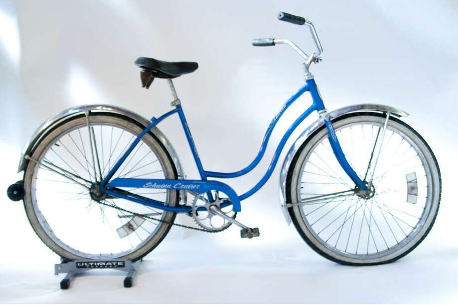 Schwinn cruiser circa 1970s: The Schwinn company dominated American bicycle sales for much of the early 20th Century. The company was known for its almost indestructible children's bikes with balloon tires. Photo: Sara Schoenfield Murphy