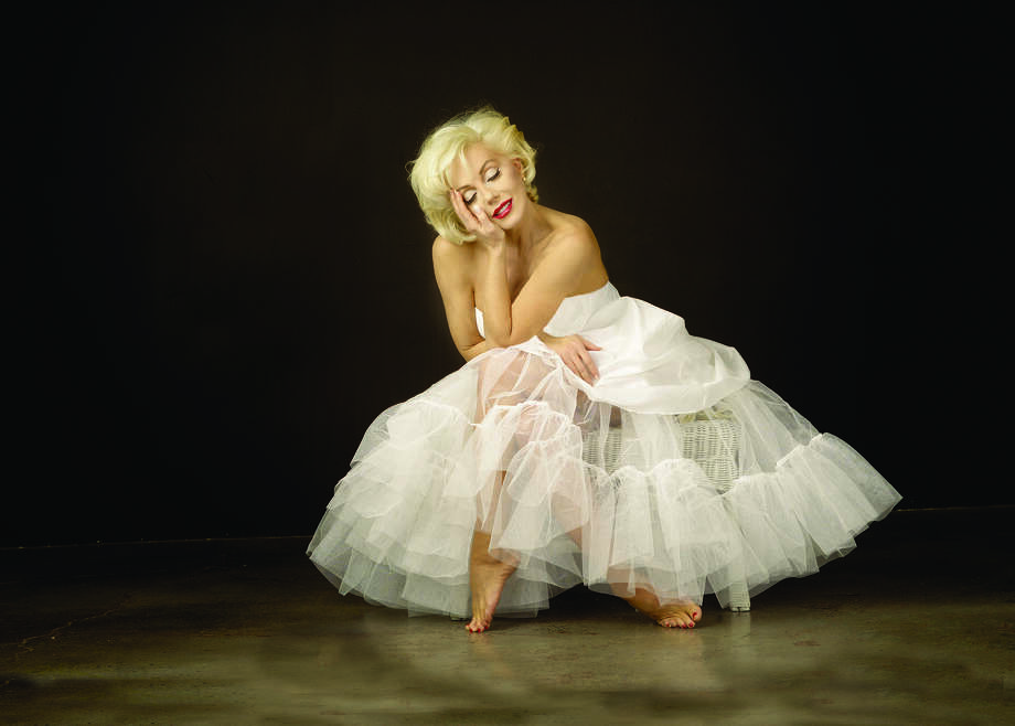 "Sunny Thompson stars in ""Marilyn Forever Blonde"" at the Wortham Theater Center Aug. 21-23. Photo: Howard Petrella / handout"