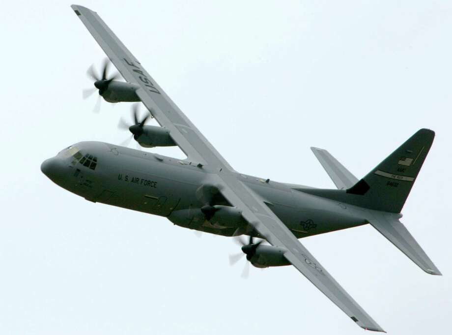 FILE C-130-J transport aircraft Photo: Danny Johnston, STF / AP