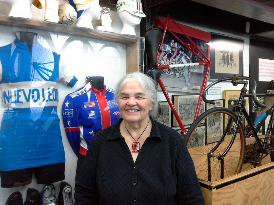 Joy Boone, owner of Daniel Boone Cycles on Crawford Street in Houston, is the owner of a vintage bike collection and wants to expand to a full-fledged Houston Bicycle Museum. Check out some of the cool rides in her collection. Photo: Joy Boone