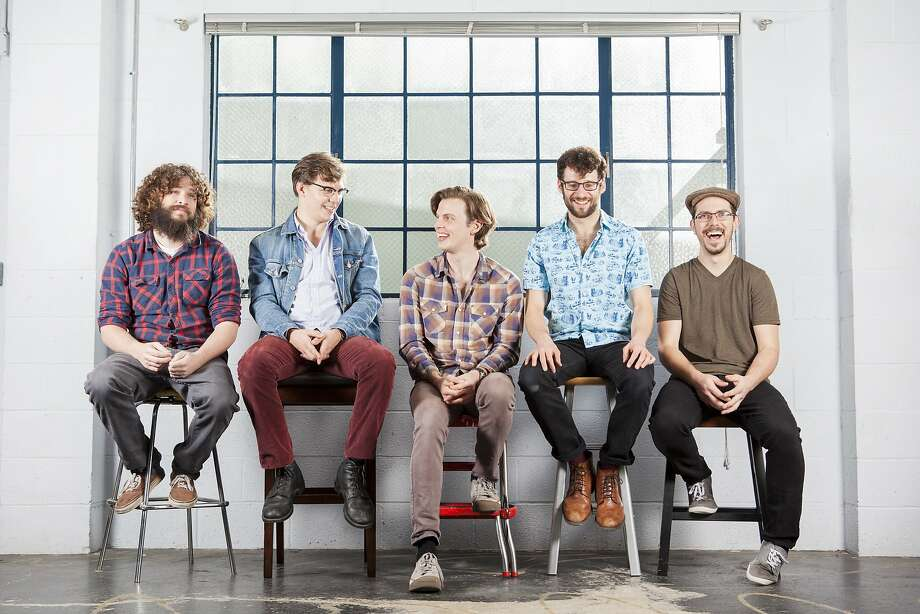 Geoff McCann (left), Peter Smith, Brian Bergeron, Jonathan Devoto and Matt Roads make up Mr. Kind. Photo: Clara Rice