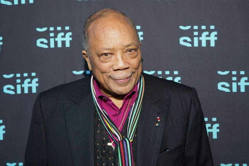 Now Quincy Jones at the SIFF Cinema Uptown Theater on June 4, 2014 in Seattle.
