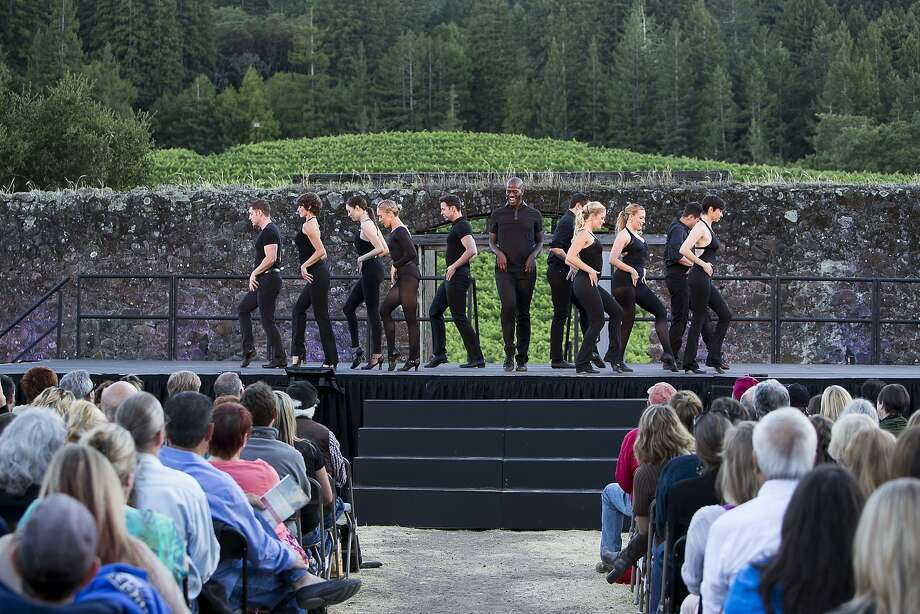 Amy Miller (second from left) is artistic director of Sonoma County's Transcendence Theatre Company. Photo: Ray Mabry