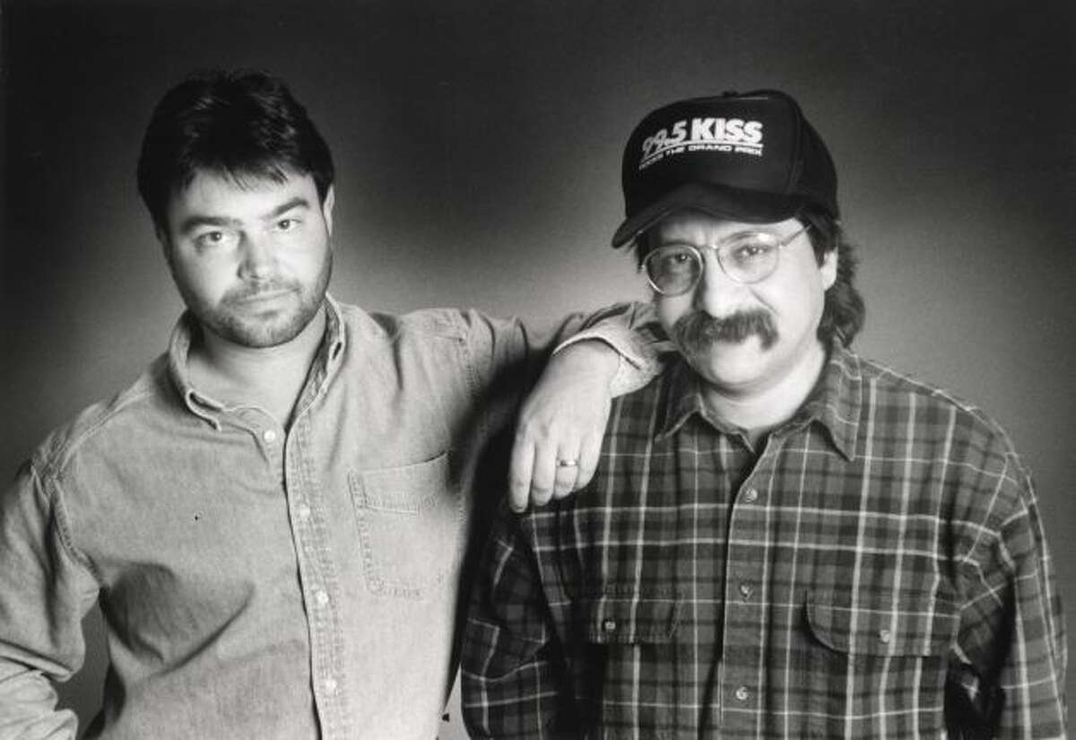 John Lisle (left), who joined KZEP without his longtime sidekick Steve Hahn (right) early last year, is now history at the station.