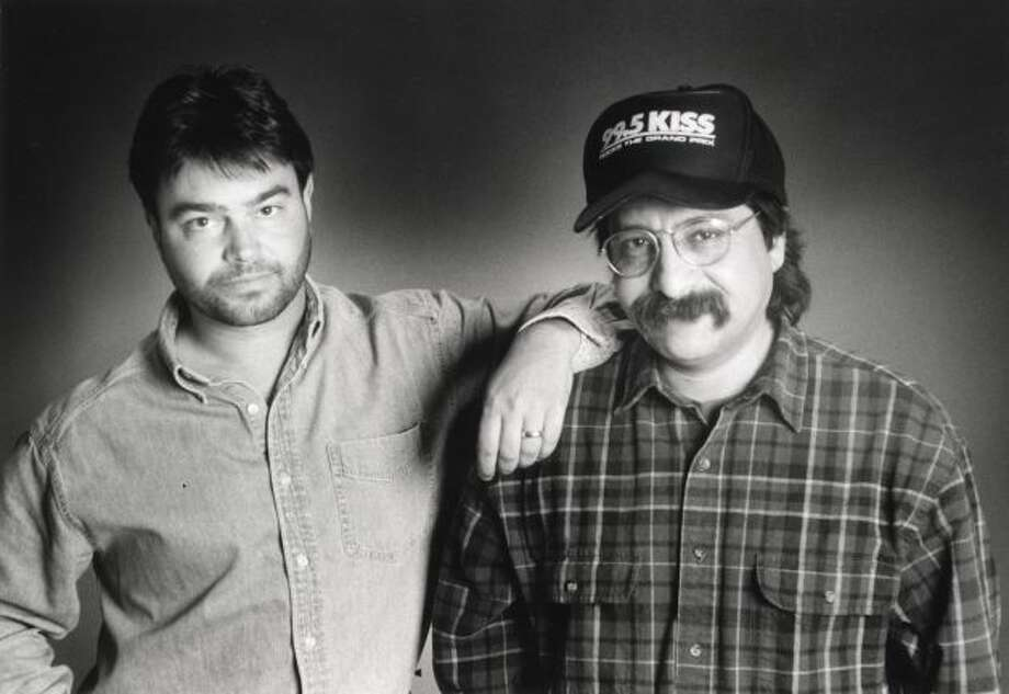 John Lisle (left), who  joined KZEP without his longtime sidekick Steve Hahn (right) early last year, is now history at the station. Photo: KISS