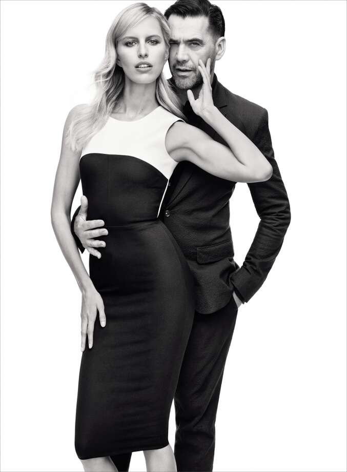 Designer Roland Mouret created a 30-piece capsule collection for Banana Republic. Photo: Banana Republic