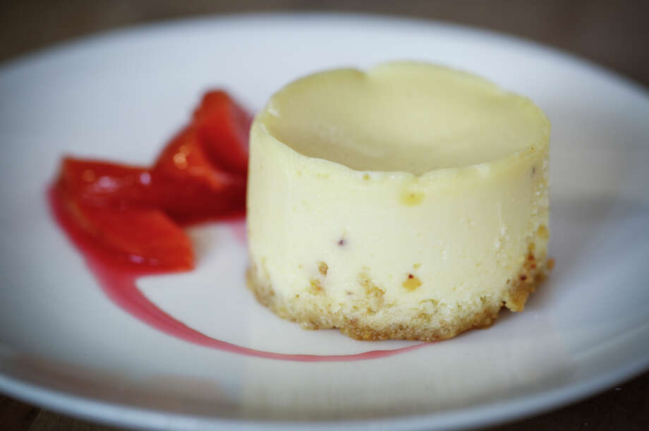 Marla Bakery's Amy Brown's cheesecake with pluots is seen on Wednesday, July 30, 2014 in San Francisco, Calif. Photo: Russell Yip, Staff / The Chronicle / ONLINE_YES