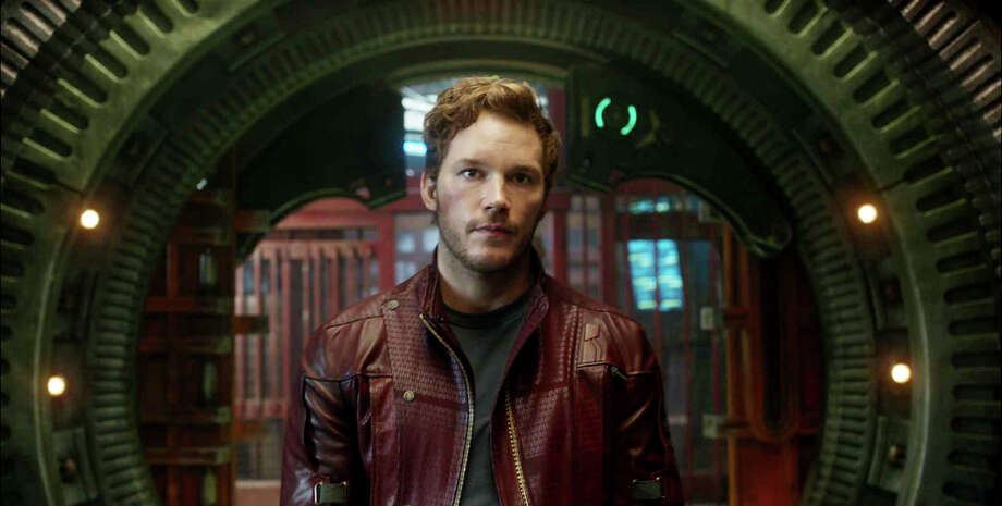 "Chris Pratt grew up in Lake Stevens in Snohomish County, where his dad was a home remodeler and his mom works at the local Safeway. Here he's pictured in ""Guardians of the Galaxy.""  Photo: Film Frame ©Marvel 2014"