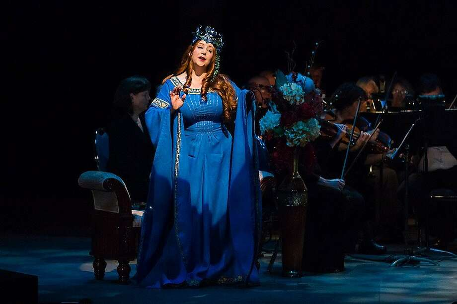 "Soprano Sharon Maxwell-Yamamoto Opera Bravura Entertainment, Inc. presents ""Desire, Despair, Destiny & Death!"" at The Montgomery Theater in San Jose, CA. Featuring Christopher Bengochea, Katja Heuzeroth, Sharon Maxwell-Yamamoto, Michael Taylor, Diane Squires, and Conductor Bruce Olstad Photo: Mike Padua"