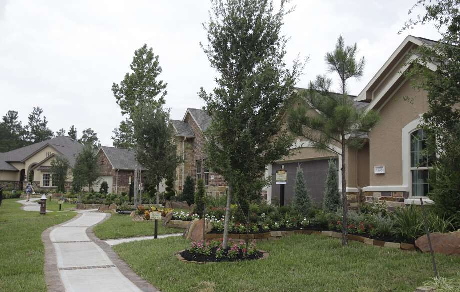 Homes are shown in Bonterra at Woodforest Tuesday, July 29, 2014, in Montgomery. The  community is for residents age 55 and up. Photo: Melissa Phillip, Houston Chronicle