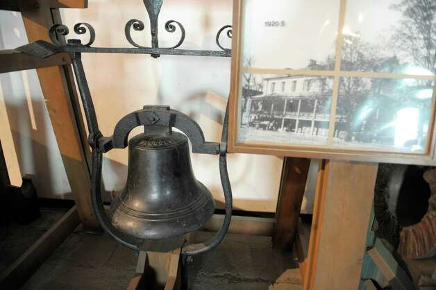 A view of a barrack's bell, made by Meneely Foundry out of Troy and used on the enlisted men's barracks, seen on display at the Watervliet Arsenal Museum Monday, Sept. 30, 2013, in Watervliet, N.Y. (Paul Buckowski / Times Union archive) Photo: Paul Buckowski / 00024008A