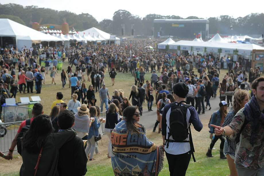 The scene at Marx Meadows, the main area of Outside Lands Music Festival in Golden Gate Park on August 08, 2014 in San Francisco, CA. Photo: Craig Hudson, The Chronicle