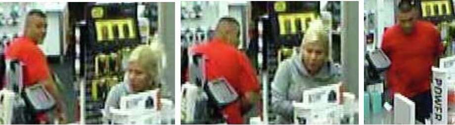 Police are searching for a man and woman who robbed a Northwest Side Radio Shack Aug. 4. Photo: Courtesy Photo.