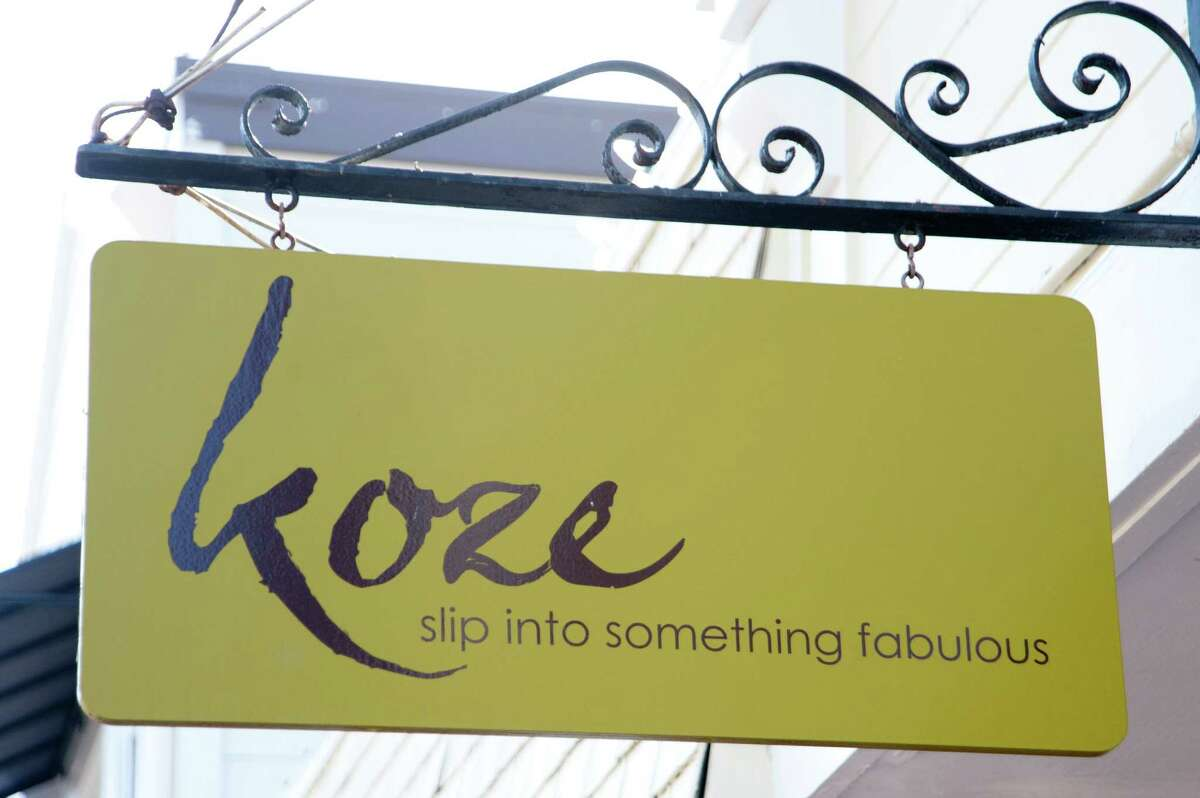 Darla Fisher recently gave her 1,200-square-foot boutique Koze and attached accessories shop Annex in Tiburon a makeover.