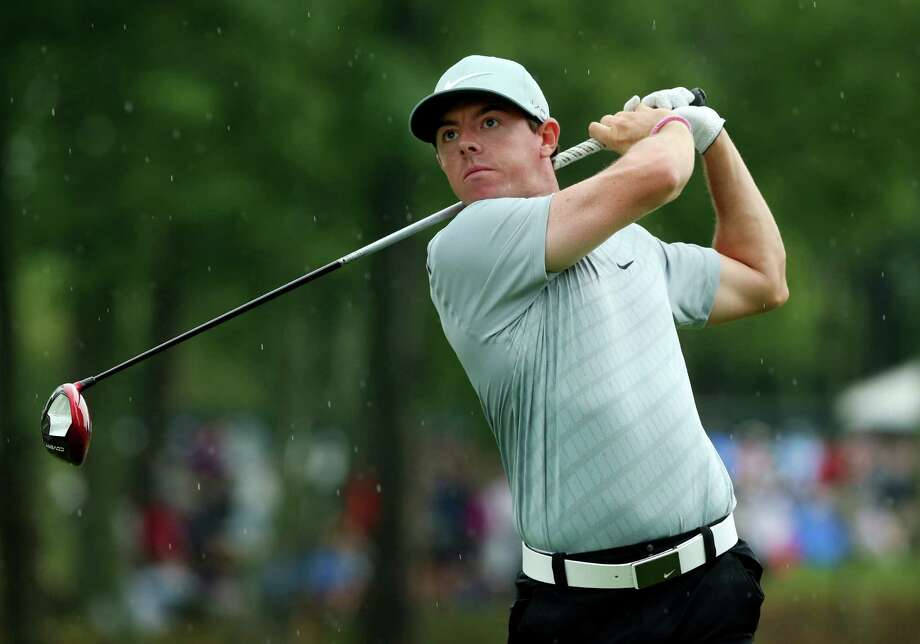 LOUISVILLE, KY - AUGUST 08:  Rory McIlroy of Northern Ireland hits his tee shot on the 15th hole during the second round of the 96th PGA Championship at Valhalla Golf Club on August 8, 2014 in Louisville, Kentucky.  (Photo by Andrew Redington/Getty Images) ORG XMIT: 461915595 Photo: Andrew Redington / 2014 Getty Images