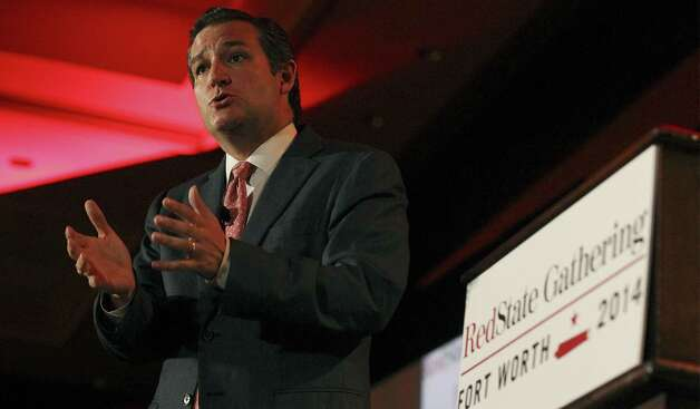 "U.S. Sen. Ted Cruz, R-Texas:""Unfortunately, there has been a sad history of the Travis County District Attorney's Office engaging in politically-motivated prosecutions, and this latest indictment of the governor is extremely questionable,"" Cruz said in a Facebook post. ""Rick Perry is a friend, he's a man of integrity – I am proud to stand with Rick Perry. The Texas Constitution gives the governor the power to veto legislation, and a criminal indictment predicated on the exercise of his constitutional authority is, on its face, highly suspect."" Pictured, during his address at the RedState Gathering, Sen. Ted Cruz said conservatives are near victory in big fights like Obamacare and immigration. Photo: Kin Man Hui / San Antonio Express-News / ©2014 San Antonio Express-News"
