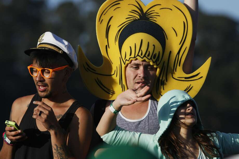 Festival goers wear many costrumes and strange outfits at Outside Lands Music Festival in Golden Gate Park on August 08, 2014 in San Francisco, CA. Photo: Craig Hudson, The Chronicle