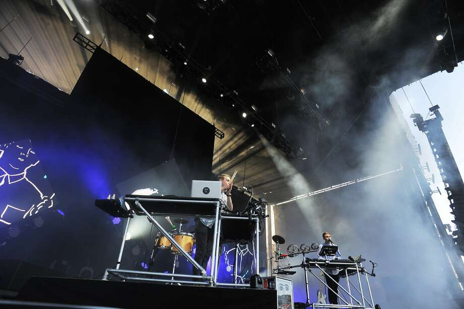 Disclosure performs on the Lands End stage at Outside Lands Music Festival in Golden Gate Park on August 08, 2014 in San Francisco, CA. Photo: Craig Hudson, The Chronicle