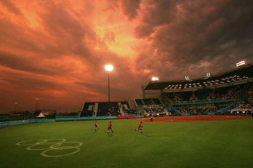 Softball venues in Canada