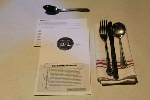 Dinner Lab debuted in San Antonio Aug. 8 with guest chef Kwame Onwuachi from New York. The member-based supper club is in 19 cities and provides an opportunity for up-and-coming chefs to test drive their menus. (Jennifer McInnis / San Antonio Express-News)