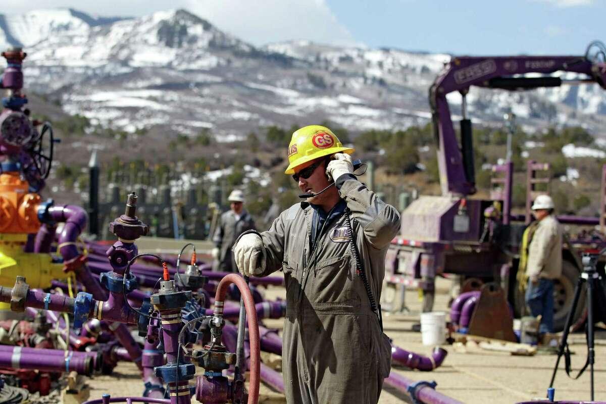 2. Encana Corp. - Athlon Energy: $6.9 billion Calgary-based Encana Corp. purchased Fort Worth-based Athlon Energy for $6.9 billion, giving the Canadian oil producer 140,000 net acres in the Midland Basin in West Texas. Announced: Sept. 29, 2014