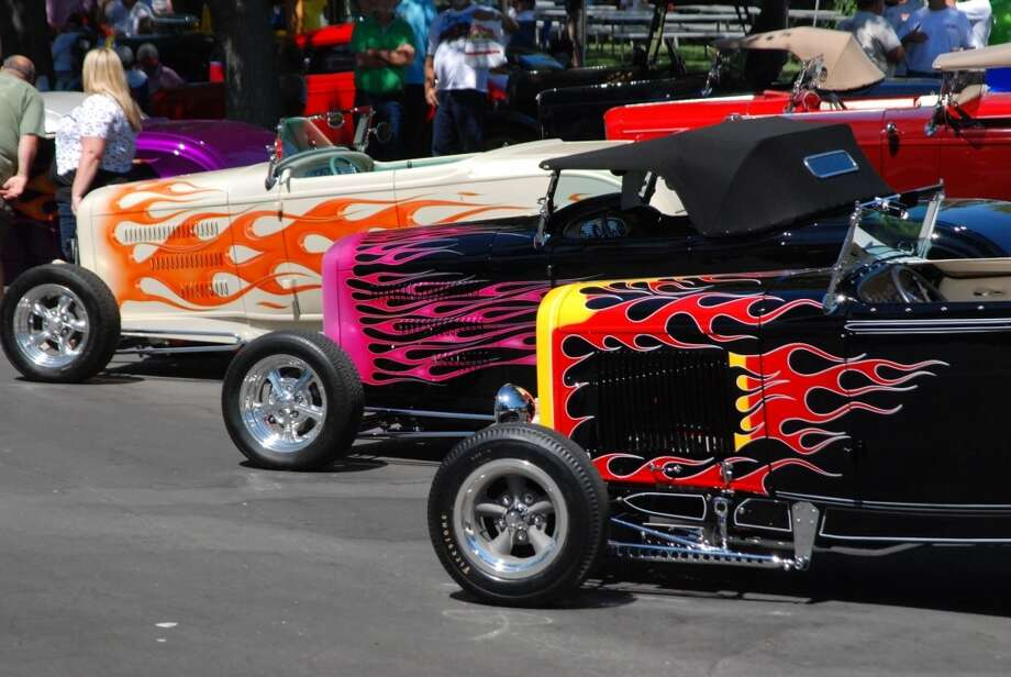 Customized Fords from the 1930s will be at the Goodguys West Coast Nationals show in Pleasanton, Calif., August 22-24. (Photo courtesy of the Goodguys Rod & Custom Association)