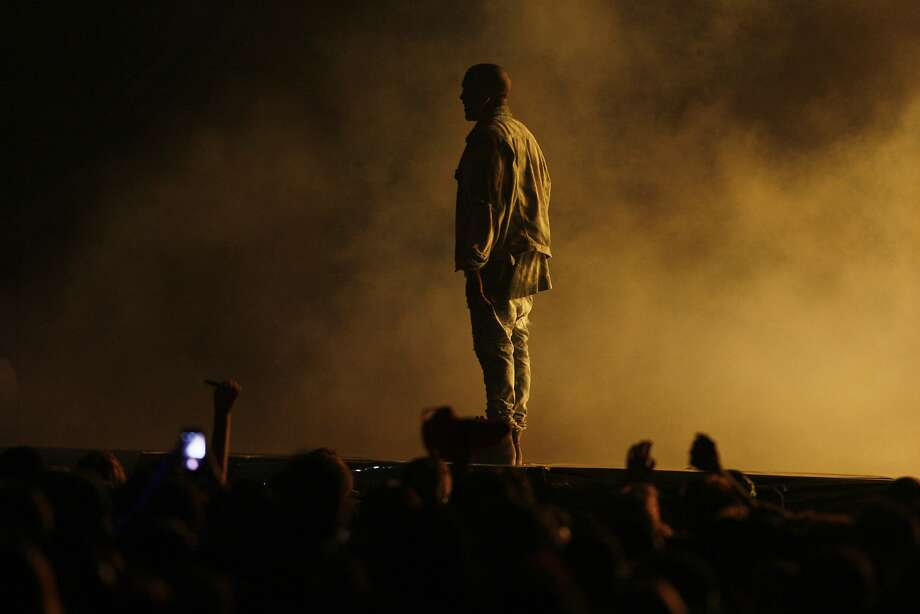 Kanye West performs on the Lands End stage at the Outside Lands Music Festival in Golden Gate Park on August 08, 2014 in San Francisco, CA. Photo: Craig Hudson, The Chronicle