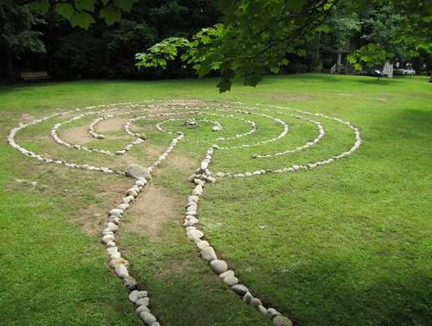 "The Women?s Round Lake Improvement Society sponsored a new labyrinth in the village?s Schoolhouse Park. Society president Deb Albrecht said children are having a great time walking through the paths. ""It is a wonderful addition to the community,"" she said."