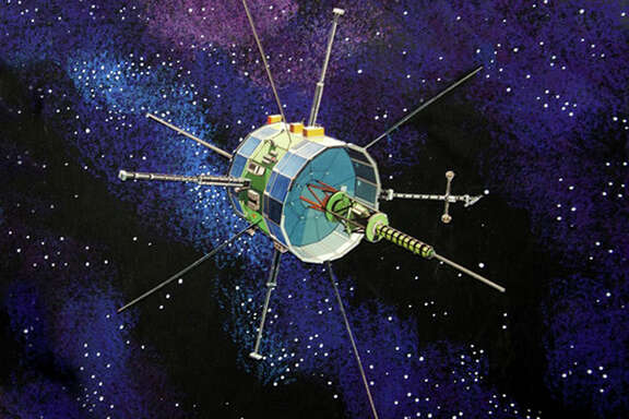 NASA's International Sun-Earth Explorer-3. The spacecraft, launched in 1978 and abandoned by NASA in 1997, will pass close to Earth on Sunday as it continues its modest revival, spurred by a group of space enthusiasts.