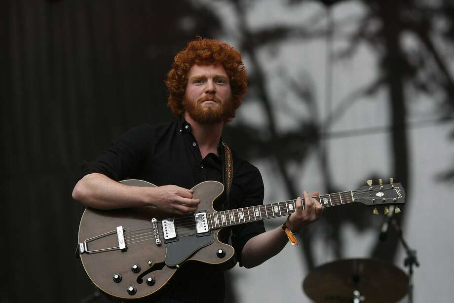 Jeremy Lyon of The Tumbleweed Wanderers performs on the Sutro Stage at Outside Lands on Saturday, Aug. 9, 2014 in San Francisco, Calif. The festival featured a variety of acts from Tom Petty to Macklemore. Photo: James Tensuan, The Chronicle