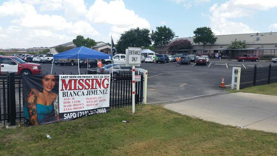Bianca Jimenez's family holds a plate sale at the Divine Providence Catholic Church at 5667 Old Pearsall Road on Saturday, Aug. 9, 2014. All funds go toward search efforts to find Bianca Jimenez who has been missing from the 300 block of Adams Street in the King William area for three weeks. Photo: J. Almendarez/San Antonio Express-News