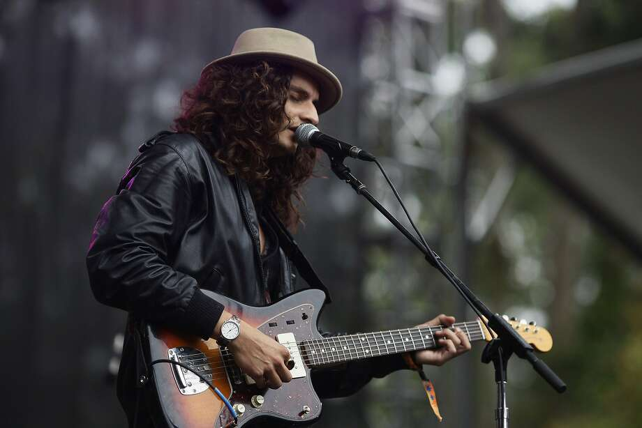 Rob Fidel of The Tumbleweed Wanderers performs on the Sutro Stage at Outside Lands on Saturday, Aug. 9, 2014 in San Francisco, Calif. The festival featured a variety of acts from Tom Petty to Macklemore. Photo: James Tensuan, The Chronicle