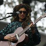 Valerie June performs on the Sutro Stage at Outside Lands on Saturday, Aug. 9, 2014 in San Francisco, Calif. The festival featured a variety of acts from Tom Petty to Macklemore.